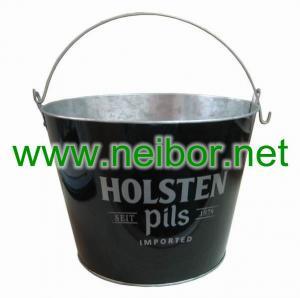 China tin ice bucket, metal beer bucket, beer cooler, tin ice bucket,wine bucket on sale