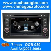 Wholesale Ouchuangbo Car DVD GPS S100 Platform for Audi A4(2002-2008) DVR Bluetooth Audio Video Player from china suppliers