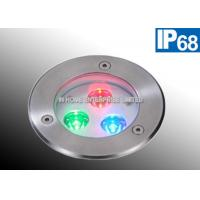 Wholesale IP68  316 Stainless Steel Embedded LED Pool Light Underwater 3 Watt 50 - 60HZ from china suppliers