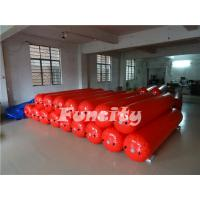 Wholesale 3M Length 0.5m diameter Red Color  Waterproof  Floating Water Tube for Water park  Enclosure from china suppliers