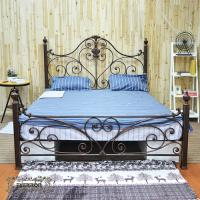 Wholesale iron craft bed custom size metal bed from china suppliers