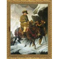 Quality PAINTING Napoleon Crossing the Alps by Paul Delaroche for sale