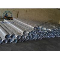 Wholesale Low Carbon Steel Water Well Pipe , Well Casing Screen 1.0 Mm Slot Size from china suppliers