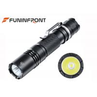 Wholesale 126 Meters High Light Range Powerful MINI CREE LED Flashlight with Pocket Clip from china suppliers