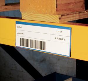 clear price tag holder , shelf price talker label holder for shelves