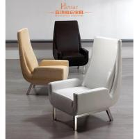 Wholesale Classical Luxury Living Room Furniture / Chair Leather Sofa with Stainless Frame from china suppliers