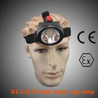 Wholesale Portable LED Mining Lamp 4000lm SABS , 90 Degree Coal Miners Headlamp KL2.5LM from china suppliers