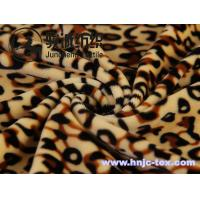 Wholesale Environment friendly leopard pattern imitated cuddle soft velboa for home textile from china suppliers