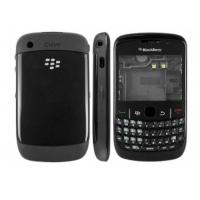 Wholesale  OEM Blackberry Curve 8520 Full Housing Covers Faceplates Black from china suppliers