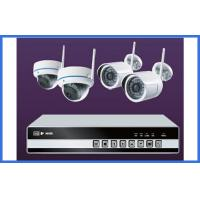 Wholesale 4CH 720P / 1080P Wireless CCTV Camera Kits Support Ipad Smart Phone Onvif from china suppliers