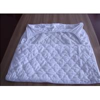 Wholesale White Quilted Waterproof Mattress Protector Anti Acarid For Home from china suppliers