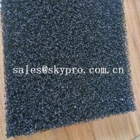 Wholesale Air filter sponge sheet black polyurethane 20ppi foam sheet reticulated polyurethane filter foam from china suppliers