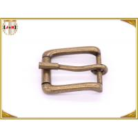 Wholesale Antique Brass Rolling Custom Metal Bag Buckle , Handbag Making Accessories from china suppliers