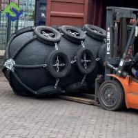 China 2.0*3.0m Ship Large TugBoat Rubber Fenders in black for sale