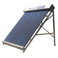 Quality Rooftop Evacuated Tube Solar Water Heater , 25 Tube Low Pressure Solar Geyser for sale