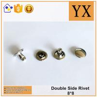 High Quality Bright Nickel Plate 8mm Metal Rivet For Decoration
