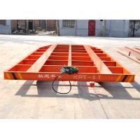 Quality Autamated cable pulling cart electric cargo trollry with holes for Blasting room for sale