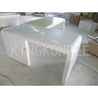 Wholesale artificial stone corian material table tops from china suppliers