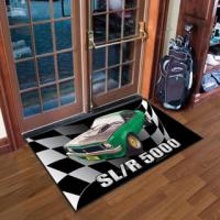 Buy cheap Customized Logo Mat, Doormat, 100% Nyon Printed Mat with Rubber Backing from wholesalers