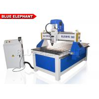 Wholesale ELE 9015 Aluminum Cutting Machine , advertising 4 axis wooden door cnc router with CE certificate from china suppliers