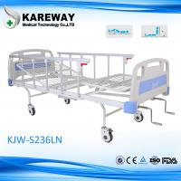 Wholesale Iron Aluminum Side Rails Manual Hospital Bed Two Cranks For Medical Hospital Furniture from china suppliers