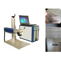 Wholesale 20W Portable Laser Engraving Machine For Auto Parts / Building Materials from china suppliers