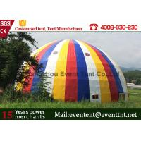 Wholesale Snow White Color Large Dome Tent Diameter 30m Transparent For Road Show from china suppliers
