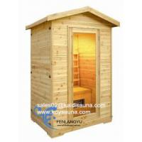 Wholesale 2person outdoor infrared sauna cabin from china suppliers