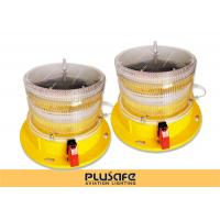 Buy cheap Led Battery Operated Aircraft Warning Lights Fresnel Lens 3KM Visual Distance from wholesalers