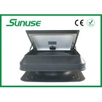Wholesale Rechargeable Solar Powered Ventilation Fan , Hail Resistant Solar Attic Exhaust Fan from china suppliers
