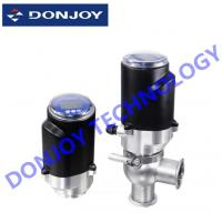 Wholesale SS304 / SS316L Intelligent Electric Control Valve With Intelligent Positioner / Controller from china suppliers