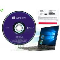 Quality Microsoft Windows 10 Pro OEM Pack 64 Bit , Korean Version Win 10 Pro Online Activation for sale