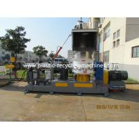 Wholesale Belt Conveyor PP PE Film Plastic Granulating Machine With Single Screw Extruder from china suppliers