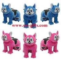 Wholesale Walking animal electric plush battery toy to ride ride on horse High Quality from china suppliers