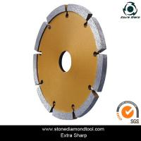 Wholesale crack chaser blade/tuck point daimond saw blade for grooving stone from china suppliers