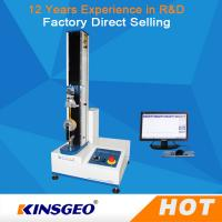 Wholesale Single Column Computerized Universal Testing Machines 5KN With Metal / Rubber from china suppliers
