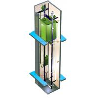 Wholesale Residential Lift Elevator Machine Room Less Maximum Travelling Height 90m from china suppliers