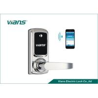 Wholesale Electric Bluetooth Enabled Door Lock , Wireless Home Door Lock Controlled By Smartphone from china suppliers