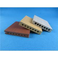 Wholesale Hollow Co - extrusion WPC Composite Decking Board End Cap Yard Wooden from china suppliers