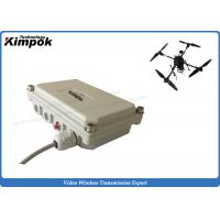 Wholesale 100km LOS UAV Video Transmitter Wireless 5000mW Long Distance Audio Video Transmitter from china suppliers