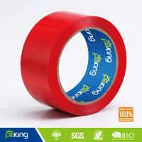 Wholesale 19 Years Factory OEM Red Color Adhesive BOPP Packing Tape for Carton Sealing from china suppliers