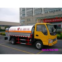 Wholesale Diesel Delivery 4x2 JAC Mobile Oil Tank Truck , Refuelling Petroleum Tanker Trucks from china suppliers
