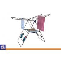 Wholesale Folding and Portable Metal Clothes Drying Rack for Home Boutique Indoor / Outdoor Use from china suppliers