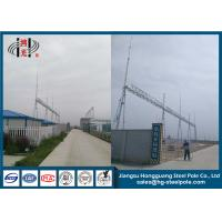 Wholesale Electric Distribution Steel High Voltage Switchyard , Power Transmission Tower from china suppliers