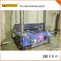 Plastering Tips Automatic Rendering Machine Cement Wall 100kgs/110KGS