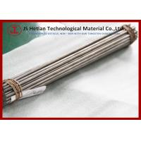 Wholesale CO 10% 310 mm Tungsten Carbide Rod with 0.6 Micron TC Phase , 14.37 g / cm3 Density from china suppliers