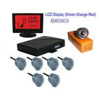 Quality Colorful LCD With 6 Sensors Parking Sensor for sale