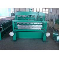 Buy cheap Glazed Tile 1100 And C21 Double Layer Roll Forming Machine With Motor Drived from wholesalers
