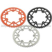 Wholesale Anodizing Aluminum Alloy 7075 Dirt Bike Rear Sprockets KTM 125 – 530 All Models from china suppliers