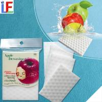 Buy cheap Creative High Quality Apple Dewaxing Cleaning Eraser Melamine Sponge from wholesalers
